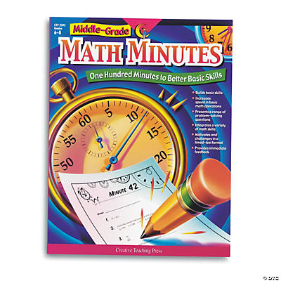 Middle-Grade Math Minutes