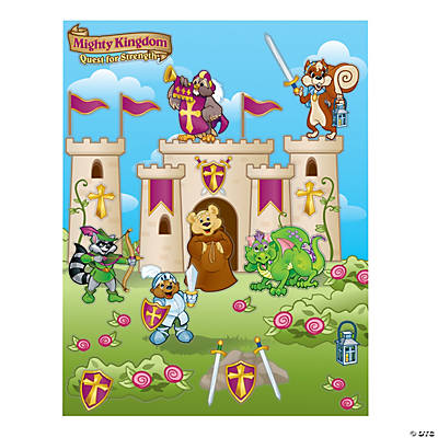 """Mighty Kingdom"" Castle Sticker Scenes"