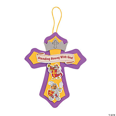 """Mighty Kingdom"" Cross Sign Craft Kit"