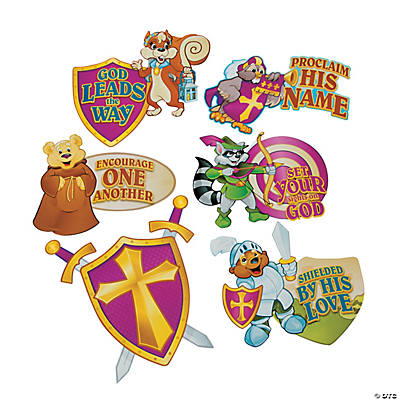 """Mighty Kingdom"" Cutout Decorations"