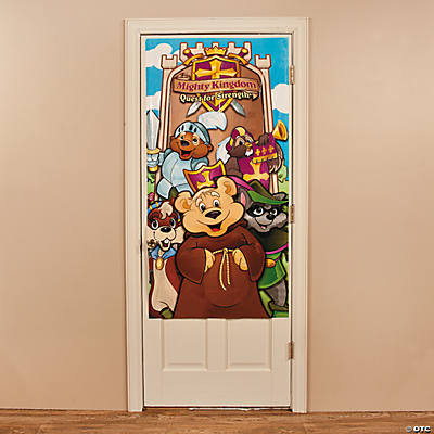 """Mighty Kingdom"" Door Cover"