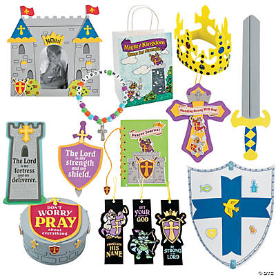 """Mighty Kingdom"" Large Craft Kit Assortment"