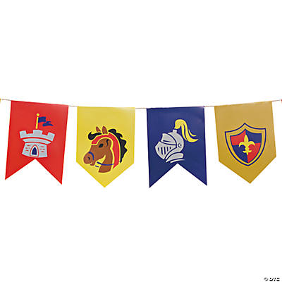 """Mighty Kingdom"" Pennant Banner"