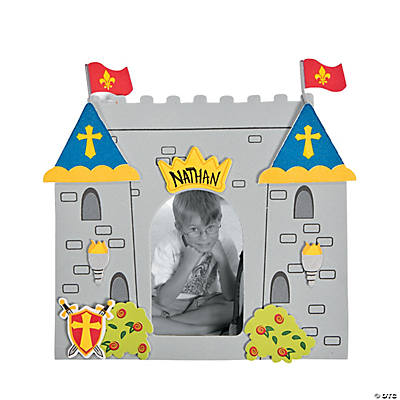 """Mighty Kingdom"" Picture Frame Magnet Craft Kit - 48 Kits"