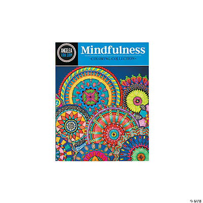 Mindfulness adult coloring book oriental trading Coloring books for adults hobby lobby