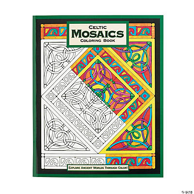 Mindware® Celtic Mosaics Adult Coloring Book