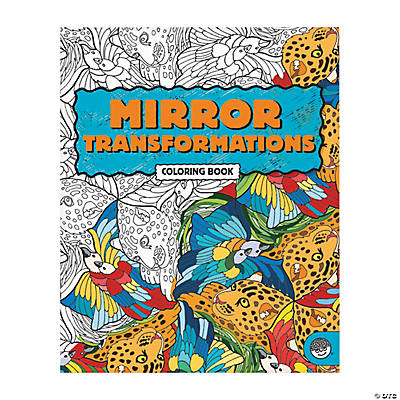 MindWare® Mirror Transformations Adult Coloring Book