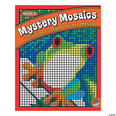 Mystery Mosaics - Coloring Book 2