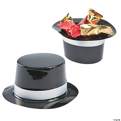 Mini Black Top Hats