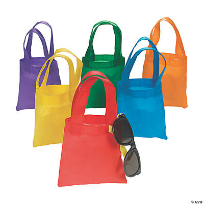 Mini Bright Color Tote Bags