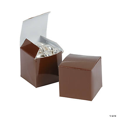 Mini Brown Gift Boxes