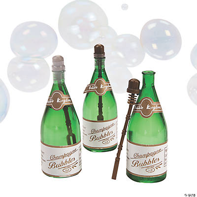 Mini Champagne Bottle Bubbles