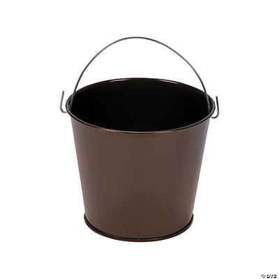 Mini Chocolate Brown Pails