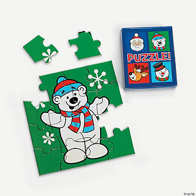 Mini Christmas Character Puzzles