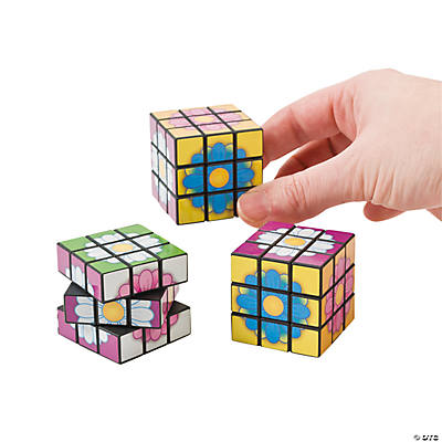 Mini Flowers Magic Cubes