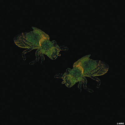 Mini Glow-in-the-Dark Sticky Flies