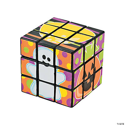 Mini Halloween Magic Cubes