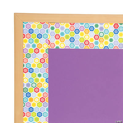 Mini Hexagon Bulletin Board Borders