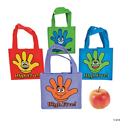Mini High Five Tote Bags