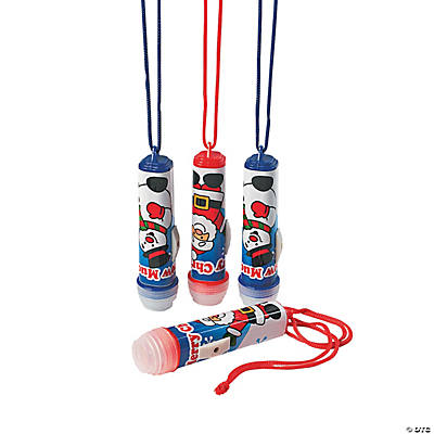 Mini Holiday Flashlights on a Rope