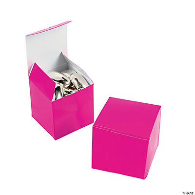 Mini Hot Pink Gift Boxes