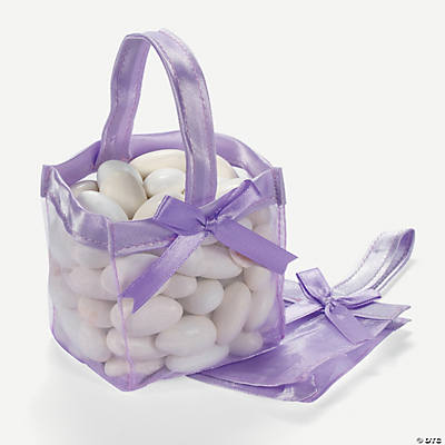Mini Lilac Favor Baskets