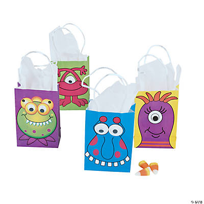 Mini Monster Gift Bags with Wiggle Eyes