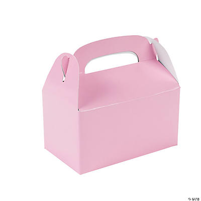 Mini Pink Treat Boxes