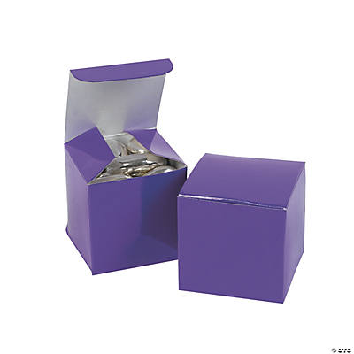 Mini Purple Gift Boxes