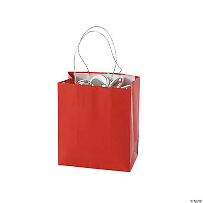 Mini Red Gift Bags