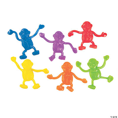 Mini Sticky Bright Gorillas