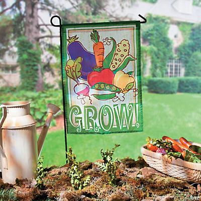 Mini Vegetable Garden Flag