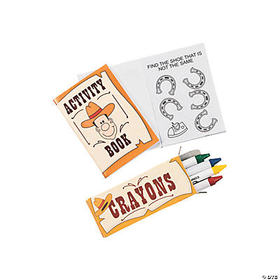 Mini Western Activity Sets