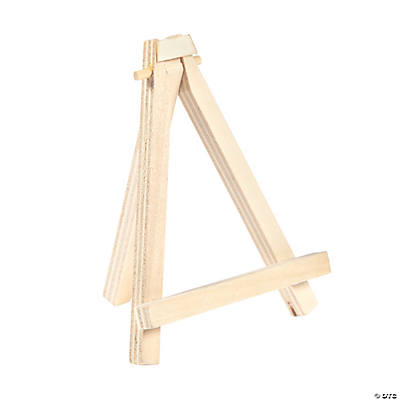 mini wooden easel place card holders