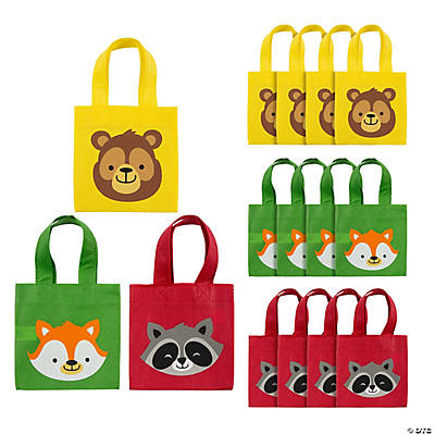 Mini Woodland Party Tote Bags