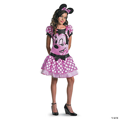 Minnie Mouse Pink Girl's Costume
