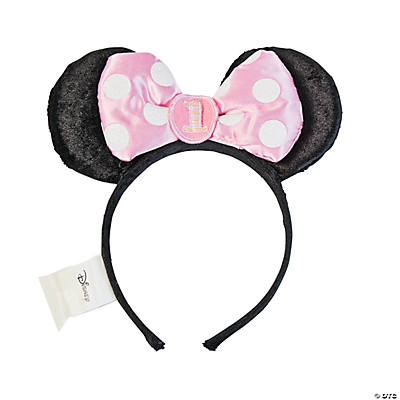 Minnie Mouse 1st Birthday Headband