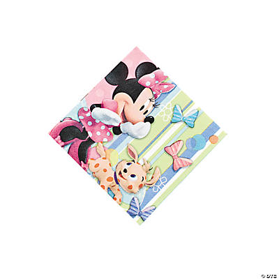 Minnie Mouse's Bow-Tique Beverage Napkins