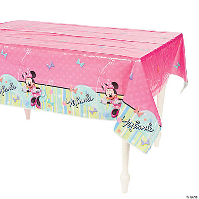 Minnie Mouse's Bow-Tique Tablecloth