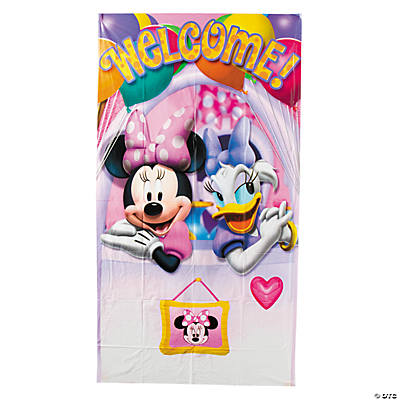 Minnie's Bow-Tique Dream Party Outdoor Banner