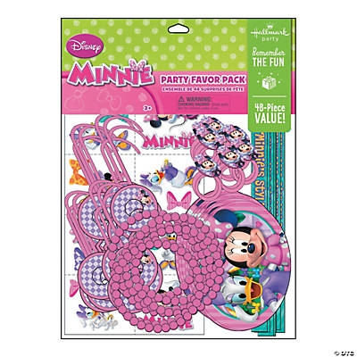 Minnie's Bow-Tique Dream Party Favor Pack