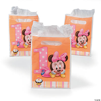 Minnie's 1st Birthday Treat Bags