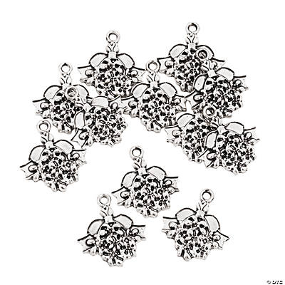 Mistletoe Christmas Charms
