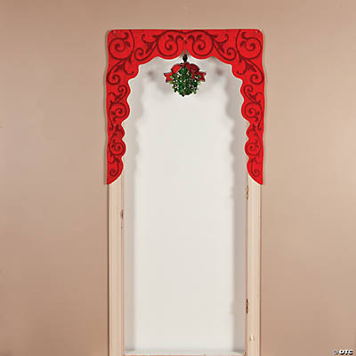 Mistletoe Door Border