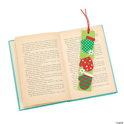 Mitten Bookmark Craft Kit
