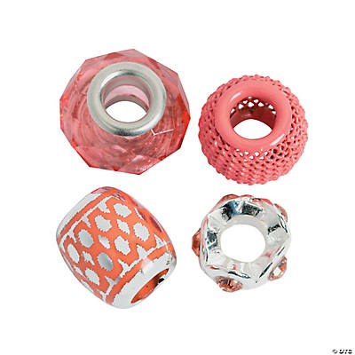 Mix & Match Coral Large Hole Beads