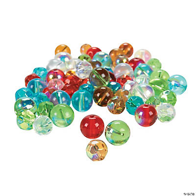Mixed AB Finish Beads - 8mm & 10mm
