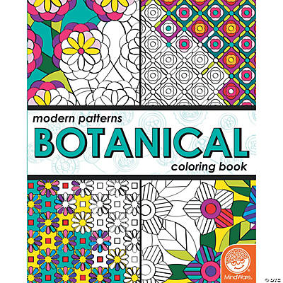 Patterns Botanical Coloring Book
