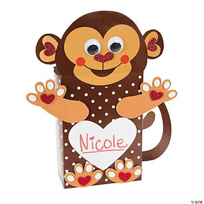 Valentine Card Holder Craft Kit  Makes 12