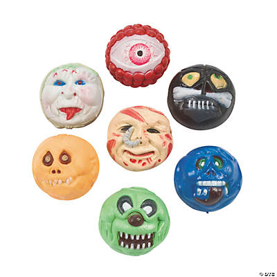 Monster Head Bouncing Balls